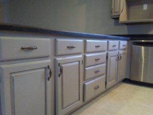 after: kitchen cabinets