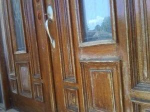 before: doors rehab